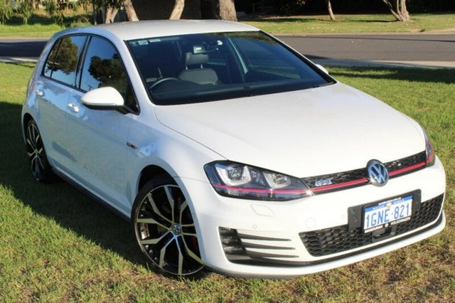 Used Volkswagen Golf VII MY14 GTI DSG Performance, 2014 Volkswagen Golf VII MY14 GTI DSG Performance White 6 Speed Sports Automatic Dual Clutch