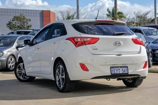 2015 Hyundai i30 GD3 Series II MY16 Active X White 6 Speed Manual Hatchback.