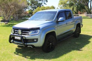 2016 Volkswagen Amarok 2H MY16 TDI420 4Motion Perm Highline Blue 8 Speed Automatic Utility.