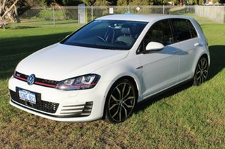 2014 Volkswagen Golf VII MY14 GTI DSG Performance White 6 Speed Sports Automatic Dual Clutch.
