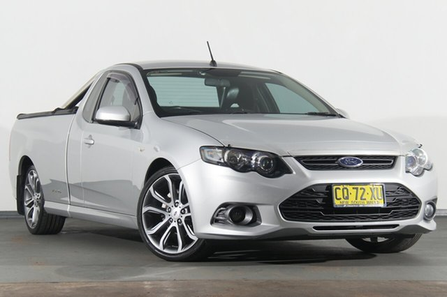 Used Ford Falcon FG MkII XR6 Ute Super Cab Limited Edition, 2012 Ford Falcon FG MkII XR6 Ute Super Cab Limited Edition Silver 6 Speed Sports Automatic Utility