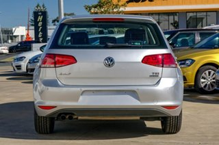 2014 Volkswagen Golf VII MY15 90TSI DSG Silver 7 Speed Sports Automatic Dual Clutch Hatchback