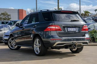 2012 Mercedes-Benz ML250 W166 BlueTEC 7G-Tronic + Grey 7 Speed Sports Automatic Wagon.