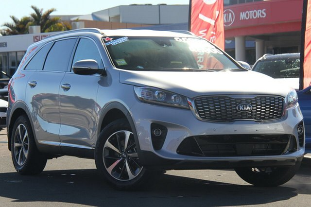 New Kia Sorento UM MY18 SLi AWD, 2018 Kia Sorento UM MY18 SLi AWD Silky Silver 8 Speed Sports Automatic Wagon