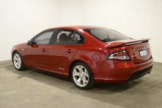 2012 Ford Falcon FG MkII XR6 Red 6 Speed Sports Automatic Sedan.