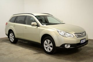 2011 Subaru Outback B5A MY11 2.5i Lineartronic AWD Touring Gold 6 Speed Constant Variable Wagon.