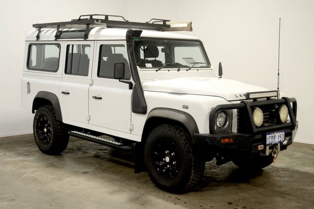 Used Land Rover Defender 110 12MY , 2012 Land Rover Defender 110 12MY White 6 Speed Manual Wagon