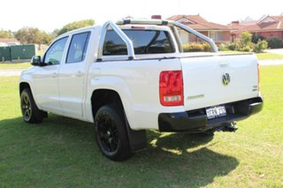 2015 Volkswagen Amarok 2H MY15 TDI400 4Mot Trendline Candy White 6 Speed Manual Utility
