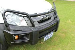 2012 Isuzu D-MAX MY12 SX White 5 Speed Manual Cab Chassis