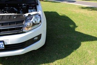 2015 Volkswagen Amarok 2H MY15 TDI400 4Mot Trendline Candy White 6 Speed Manual Utility