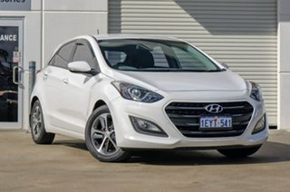 2015 Hyundai i30 GD3 Series II MY16 Active X White 6 Speed Manual Hatchback