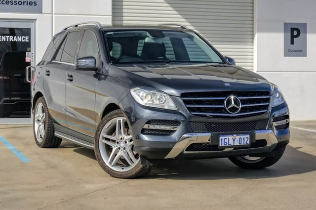Used Mercedes-Benz ML250 W166 BlueTEC 7G-Tronic +, 2012 Mercedes-Benz ML250 W166 BlueTEC 7G-Tronic + Grey 7 Speed Sports Automatic Wagon