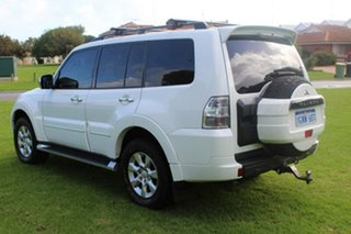 2012 Mitsubishi Pajero NW MY12 Platinum II White 5 Speed Sports Automatic Wagon.