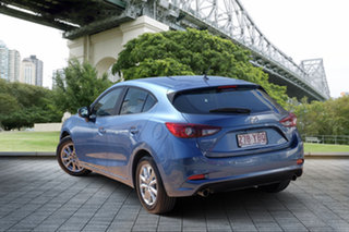 2018 Mazda 3 BN5478 Maxx SKYACTIV-Drive Sport Eternal Blue 6 Speed Sports Automatic Hatchback.