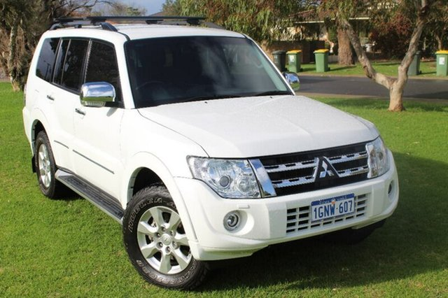 Used Mitsubishi Pajero NW MY12 Platinum II, 2012 Mitsubishi Pajero NW MY12 Platinum II White 5 Speed Sports Automatic Wagon
