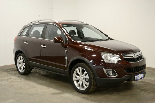 Used Holden Captiva CG MY14 5 AWD LTZ, 2014 Holden Captiva CG MY14 5 AWD LTZ Burgundy 6 Speed Sports Automatic Wagon