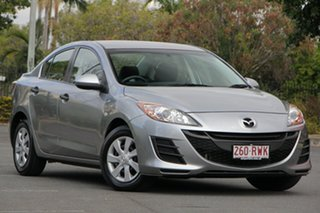 2011 Mazda 3 BL10F1 MY10 Neo Activematic Silver 5 Speed Sports Automatic Sedan.