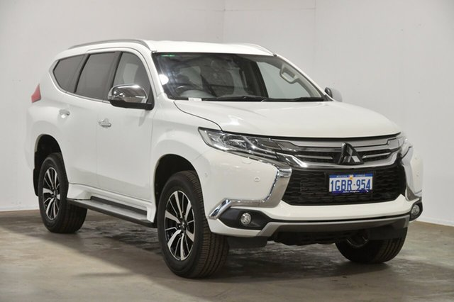 Used Mitsubishi Pajero Sport QE MY17 Exceed, 2016 Mitsubishi Pajero Sport QE MY17 Exceed White 8 Speed Sports Automatic Wagon