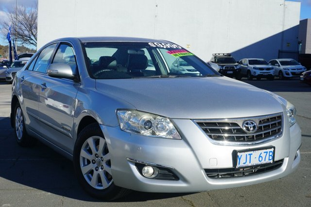 Used Toyota Aurion GSV40R Prodigy, 2008 Toyota Aurion GSV40R Prodigy Silver 6 Speed Sports Automatic Sedan