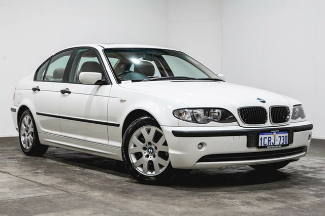 Used BMW 318i E46 MY2002 Steptronic, 2002 BMW 318i E46 MY2002 Steptronic White 5 Speed Sports Automatic Sedan