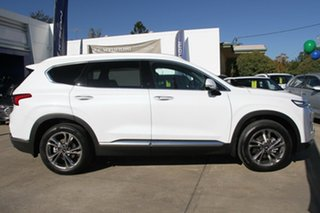 2018 Hyundai Santa Fe TM MY19 Highlander White Cream 8 Speed Sports Automatic Wagon