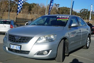 2008 Toyota Aurion GSV40R Prodigy Silver 6 Speed Sports Automatic Sedan.