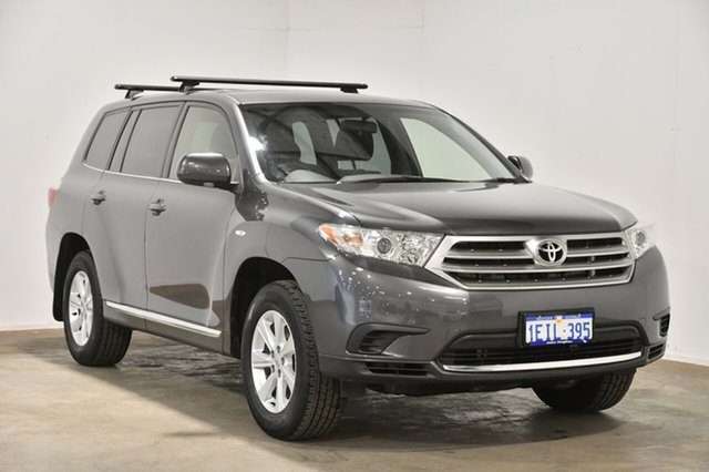 Used Toyota Kluger GSU40R MY12 KX-R 2WD, 2013 Toyota Kluger GSU40R MY12 KX-R 2WD Grey 5 Speed Sports Automatic Wagon