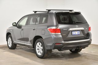 2013 Toyota Kluger GSU40R MY12 KX-R 2WD Grey 5 Speed Sports Automatic Wagon.
