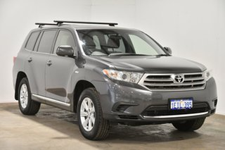 2013 Toyota Kluger GSU40R MY12 KX-R 2WD Grey 5 Speed Sports Automatic Wagon
