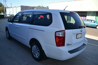 2012 Kia Grand Carnival VQ MY13 SI White 6 Speed Automatic Wagon
