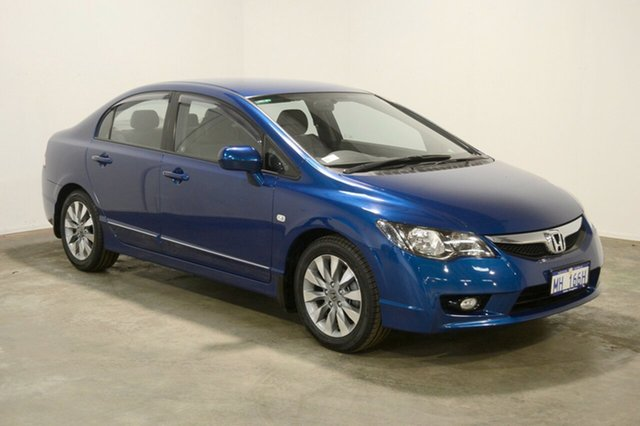 Used Honda Civic 8th Gen MY10 VTi-L, 2011 Honda Civic 8th Gen MY10 VTi-L Blue 5 Speed Automatic Sedan