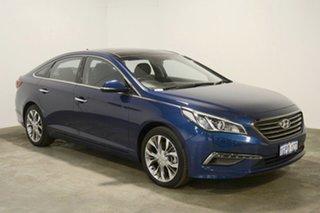 2016 Hyundai Sonata LF MY16 Premium Coast Blue 6 Speed Sports Automatic Sedan.