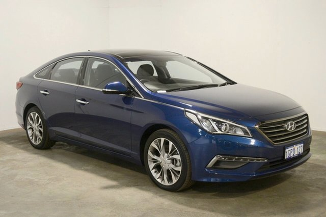Used Hyundai Sonata LF MY16 Premium, 2016 Hyundai Sonata LF MY16 Premium Coast Blue 6 Speed Sports Automatic Sedan