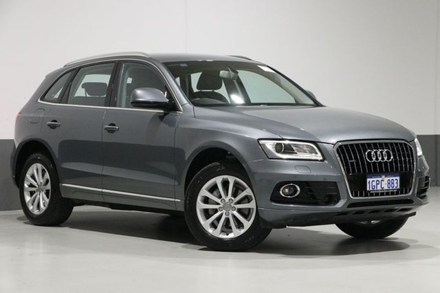 Used Audi Q5 8R MY17 TDI S tronic quattro, 2016 Audi Q5 8R MY17 TDI S tronic quattro Monsoon Grey 7 Speed Sports Automatic Dual Clutch Wagon