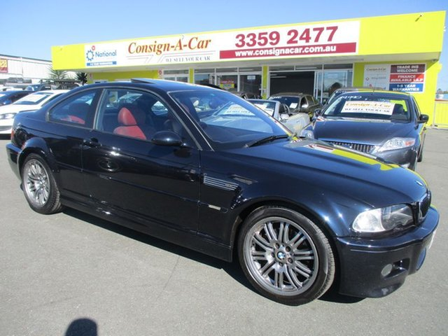 Used BMW M3 E46 , 2002 BMW M3 E46 Black 6 Speed Manual Coupe