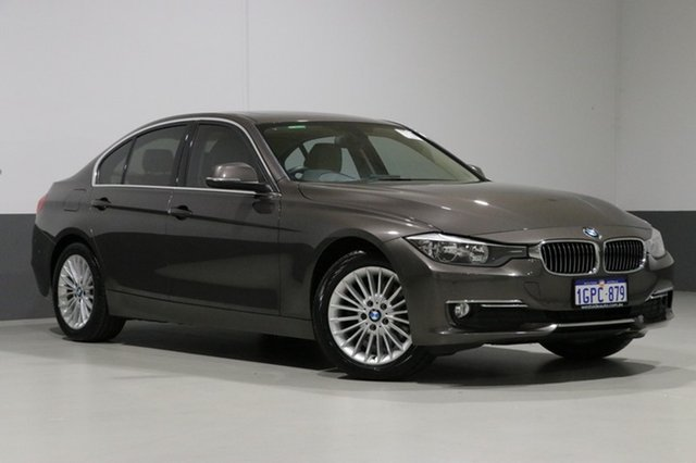 Used BMW 320d F30 Luxury Line, 2013 BMW 320d F30 Luxury Line Mineral Grey 8 Speed Automatic Sedan