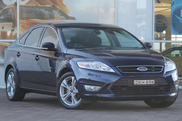 Used Ford Mondeo MC Zetec PwrShift EcoBoost, 2013 Ford Mondeo MC Zetec PwrShift EcoBoost Blue 6 Speed Sports Automatic Dual Clutch Hatchback