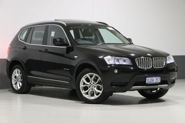 Used BMW X3 F25 xDrive 30D, 2013 BMW X3 F25 xDrive 30D Black Sapphire 8 Speed Automatic Wagon
