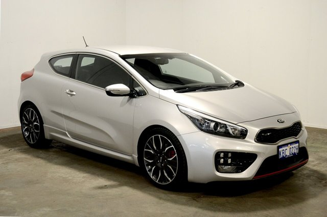 Used Kia Pro_cee'd JD MY14 GT, 2014 Kia Pro_ceed JD MY14 GT Silver 6 Speed Manual Hatchback