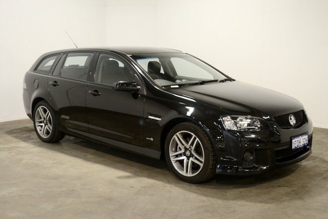 Used Holden Commodore VE II SS Sportwagon, 2011 Holden Commodore VE II SS Sportwagon Black 6 Speed Manual Wagon