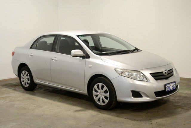 Used Toyota Corolla ZRE152R Ascent, 2007 Toyota Corolla ZRE152R Ascent Silver 4 Speed Automatic Sedan