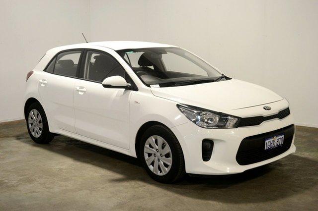 Used Kia Rio YB MY17 S, 2017 Kia Rio YB MY17 S Clear White 4 Speed Sports Automatic Hatchback