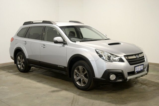 Used Subaru Outback B5A MY14 2.5i Lineartronic AWD, 2014 Subaru Outback B5A MY14 2.5i Lineartronic AWD Silver 6 Speed Constant Variable Wagon