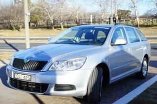 2012 Skoda Octavia 1Z MY12 90TSI DSG Silver 7 Speed Sports Automatic Dual Clutch Wagon.