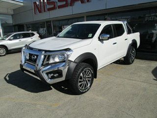 2017 Nissan Navara D23 S2 RX Polar White 7 Speed Sports Automatic Utility.