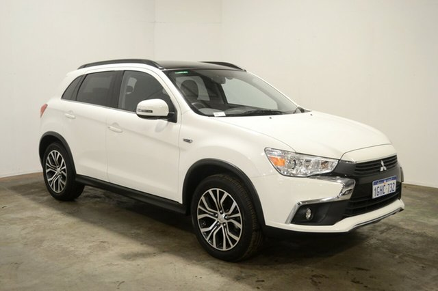 Used Mitsubishi ASX XC MY17 XLS, 2017 Mitsubishi ASX XC MY17 XLS White 6 Speed Sports Automatic Wagon