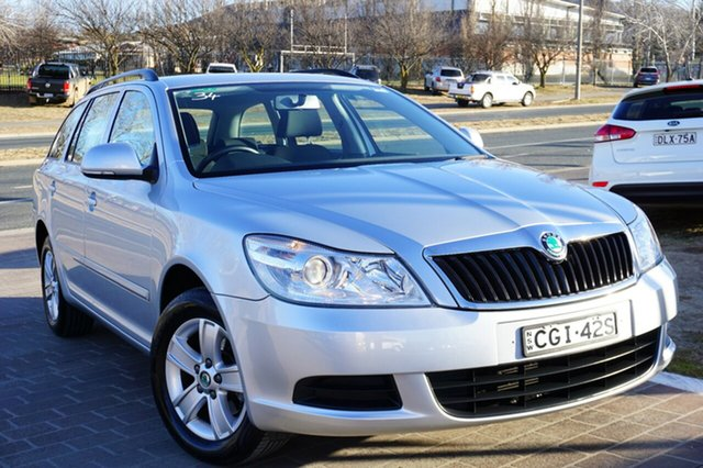 Used Skoda Octavia 1Z MY12 90TSI DSG, 2012 Skoda Octavia 1Z MY12 90TSI DSG Silver 7 Speed Sports Automatic Dual Clutch Wagon