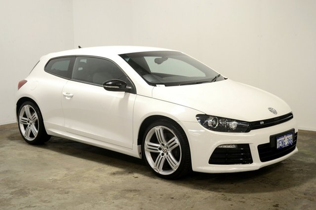Used Volkswagen Scirocco 1S MY13.5 R Coupe DSG, 2013 Volkswagen Scirocco 1S MY13.5 R Coupe DSG White 6 Speed Sports Automatic Dual Clutch Hatchback
