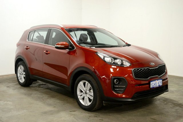 Used Kia Sportage QL MY17 Si 2WD, 2017 Kia Sportage QL MY17 Si 2WD Fiery Red 6 Speed Sports Automatic Wagon