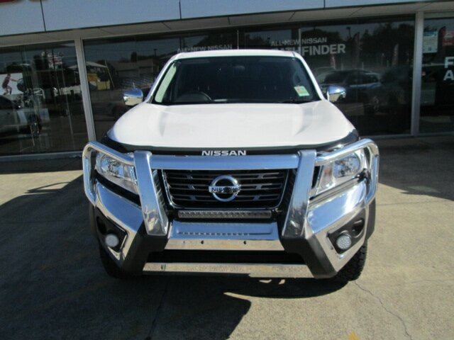 Demo Nissan Navara D23 S2 RX, 2017 Nissan Navara D23 S2 RX Polar White 7 Speed Sports Automatic Utility